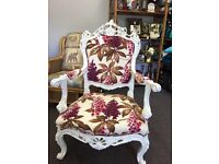 Stunning French chair up for swaps