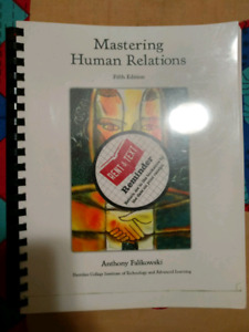 Mastering Human Relation book for Sheridan college