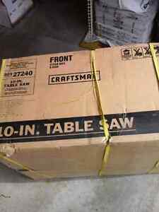 Commercial Craftsman 10' Table Saw - NEW in the Box