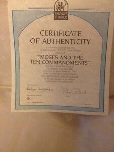 Moses and the 10 Commandments collector plate Regina Regina Area image 3