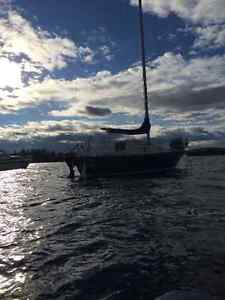 Mirage 26' Sailboat with Zodiac dinghy - For sale or trade