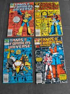 Transformers Universe #1-4 Complete Series Run.