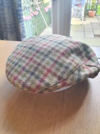 MOON Tweed Flat Cap