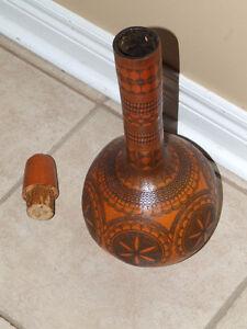 Vintage collectible handmade squash planter pot vase London Ontario image 10
