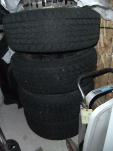 4 Snow Tires & Rims 225/60R16