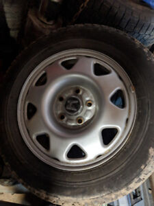 Witer tires and rims