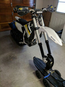 REDUCED - 2015 Husqvarna FC 450 Timber Sled