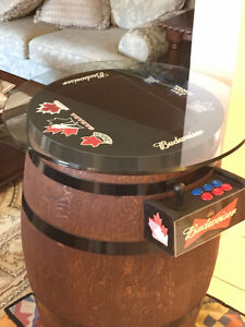 Wine Barrel Arcade Machine **500+ Games with warranty** Cambridge Kitchener Area image 4