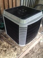 A/c and furnace combo never been used!!