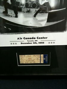 The Who Framed Poster and Concert Ticket Kitchener / Waterloo Kitchener Area image 7