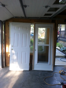 5 New steel doors and frames 32 34 36 by 80 TRURO