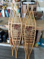 Traditional snowshoes
