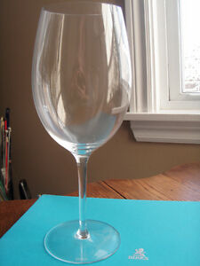 BIRKS Beautiful Crystal Red Wine Glasses (2)