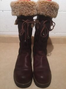 Women's Tall Insulated Winter Boots Size 8.5 London Ontario image 3