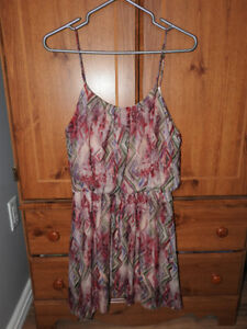 NEW WITH TAG summer dress (fits small-med) Reg $70 only $25!