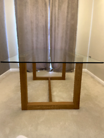 Next Glass Dining Room Table