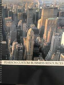 Pearson Custom Business Resources - FINA 412