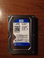 1 TB Western Digital Blue Hard Drive