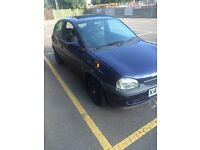 CORSA FOR SALE - GOOD WORKING ORDER 250 ONO!!!!!