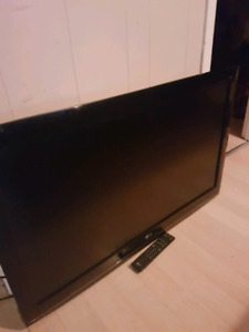 42 inch hd tv with remote