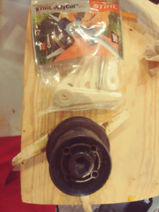 Stihl Poly Cut attachment and blades