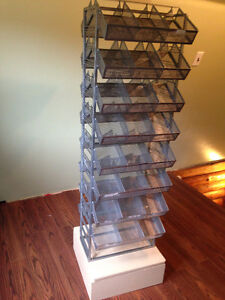 Craft Supplies Organizer / Display Rack