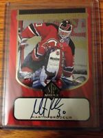 Martin Brodeur auto sign of the times 1998