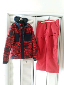 Mens size M Firefly coat And Snow pants