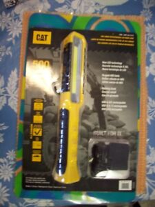 Cat 500 lumen rechargeable led wand style work light