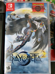 Used/Usée  Bayonetta 2 switch only/seulement