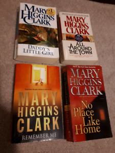 4 books by Mary Higgins Clark