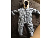 Next - up to 3 month snowsuit