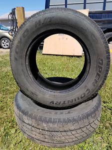 P265/65R18 Toyo Open Country HT pair