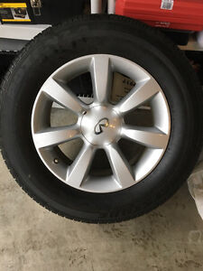 3 Sets Infiniti tires with Rim