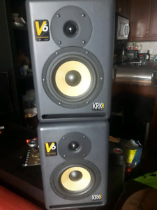 KRK V6 series 2 studio monitors