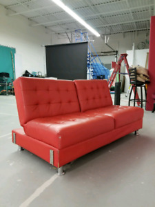 Red clik clak couch