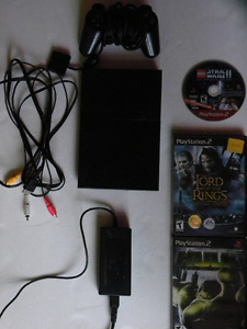 SONY PLAY STATION 2 SLIM CONSOLE COMPLETE