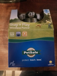 Petsafe stay and play wireless dog fence FIRM PRICE brand new