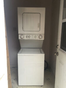 24 inch 2 in 1 stackable washer and dryer for sale*