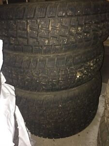 4 Avalanche X-Treme Winter Tires - 195/70/R14 - $150