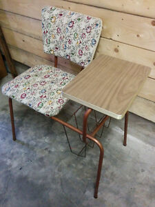 Vintage Telephone Stand with Seat