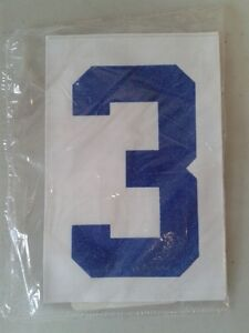 4 inch numbers for heat press application London Ontario image 3