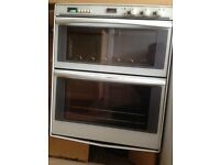 Double oven in good clean condition
