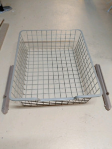 IKEA PAX Komplement Mesh basket with pull-out rail