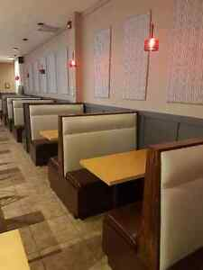 BANQUETTE/BOOTHS RESTAURANT, COMMERCE & RESIDENCE!