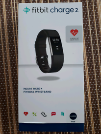 (Brand New)Black Fitbit Charge 2