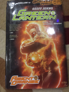 2 hard cover collectible comic book