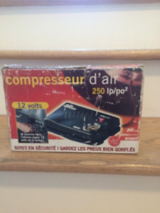 Compresseur d'air 250 psi, 12 volts