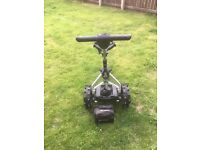 Electric golf trolley 36 hole