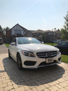 2017 Mercedes-Benz C300 Lease takeover($569+HST, cash incentive)